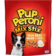 Pup-Peroni Mix Stix with Real Bacon & Egg Dog Treats, 25-oz bag
