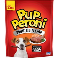 Pup-Peroni Prime Rib Flavor Dog Treats, 25-oz bag