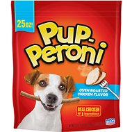 Pup-Peroni Oven Roasted Chicken Flavor Dog Treats, 25-oz bag