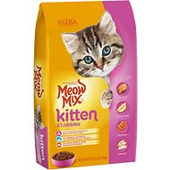 Meow Mix Kitten Li'l Nibbles Dry Cat Food, 3.15-lb bag