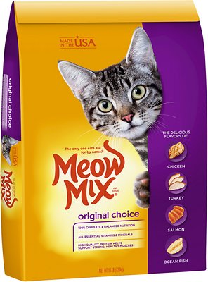 Meow Mix Original Choice Cat Food  Lb Bag