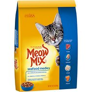Meow Mix Seafood Medley Dry Cat Food, 14.2-lb bag