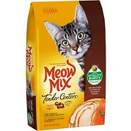 Meow Mix Tender Centers Salmon & Turkey Dry Cat Food, 3-lb bag