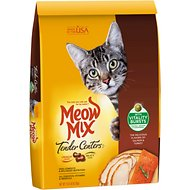 Meow Mix Tender Centers Salmon & Turkey Dry Cat Food, 13.5-lb bag
