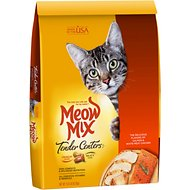 Meow Mix Tender Centers Salmon & White Meat Chicken Dry Cat Food, 13.5-lb bag