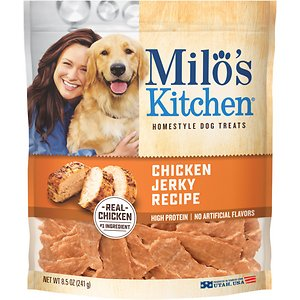 Milo's Kitchen Chicken Jerky Recipe Dog Treats, 8.5-oz bag