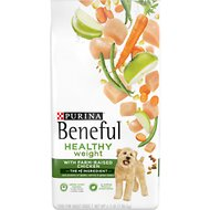 Purina Beneful Healthy Weight with Real Chicken Dry Dog Food, 6.3-lb bag