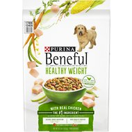 Purina Beneful Healthy Weight with Real Chicken Dry Dog Food, 15.5-lb bag