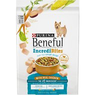 Purina Beneful IncrediBites for Small Dogs with Real Chicken Dry Dog Food, 15.5-lb bag