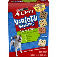 ALPO Variety Snaps Little Bites Dog Treats, 32-oz box