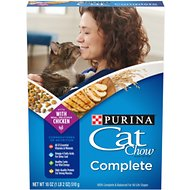Cat Chow Complete Dry Cat Food, 1-lb box