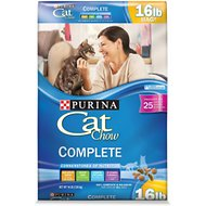 Cat Chow Complete Dry Cat Food, 16-lb bag