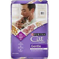 Cat Chow Gentle Dry Cat Food, 13-lb bag