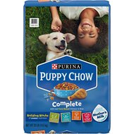 Puppy Chow Complete Chicken Flavor Dry Dog Food, 32-lb bag