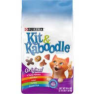 Kit & Kaboodle Original Dry Cat Food, 3.15-lb bag