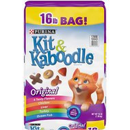 Kit & Kaboodle Dry Cat Food, 16-lb bag