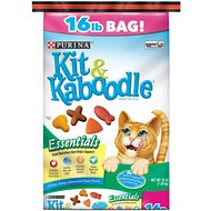 Kit & Kaboodle Essentials Dry Cat Food, 16-lb bag
