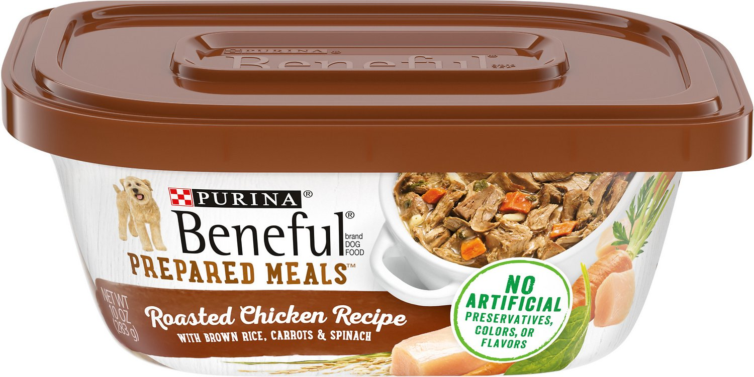 Purina beneful prepared meals roasted chicken recipe with brown rice video forumfinder Choice Image