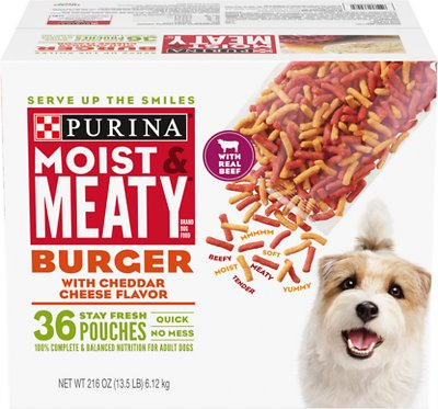 3. Purina Moist and Meaty Dog Food
