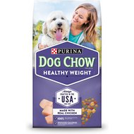 Dog Chow Healthy Weight with Real Chicken Dry Dog Food, 16.5-lb bag