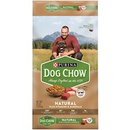 Dog Chow Natural with Real Chicken & Beef Dry Dog Food, 32-lb bag