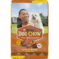 Dog Chow Little Bites with Real Chicken & Beef Dry Dog Food, 16.5-lb bag