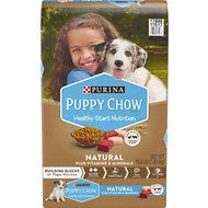Puppy Chow Natural with Real Chicken & Beef Dry Dog Food, 15.5-lb bag