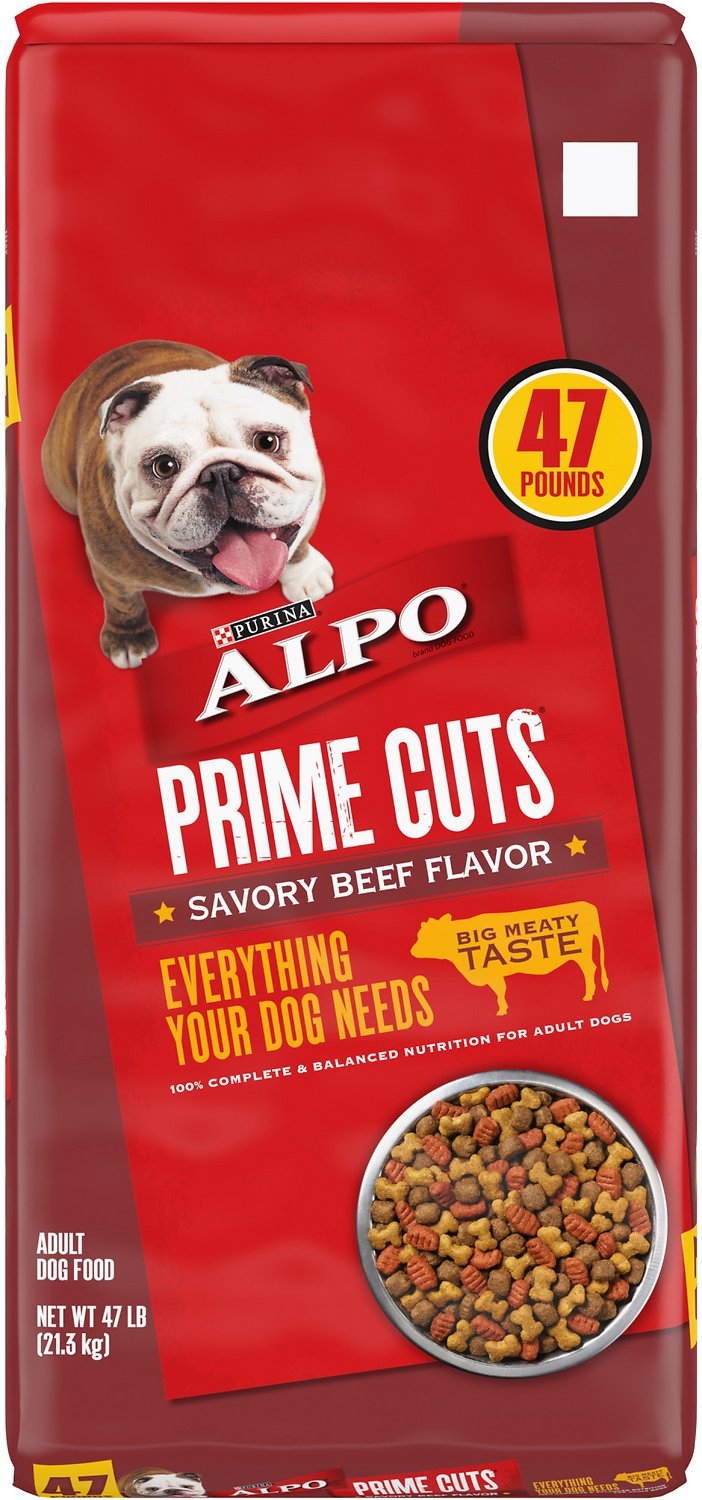 Alpo Prime Cuts Savory Beef Flavor Dry Dog Food Free Shipping Chewy