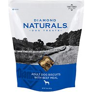 Diamond Naturals Adult Biscuits with Beef Meal Dog Treats, 16-oz bag