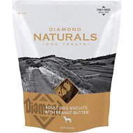 Diamond Naturals Adult Biscuits with Peanut Butter Dog Treats, 16-oz bag