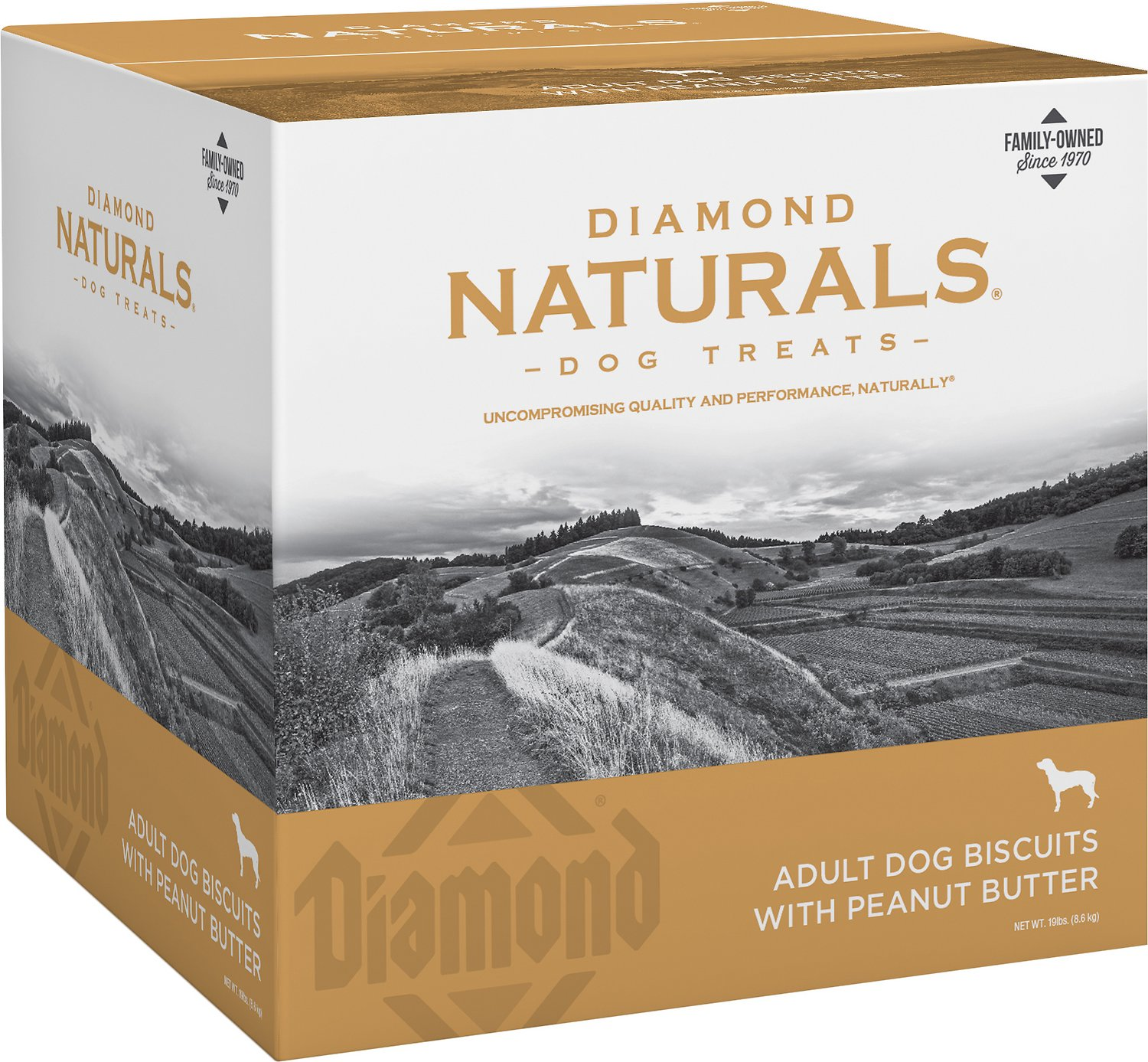 Diamond Naturals Adult Biscuits With Peanut Butter Dog
