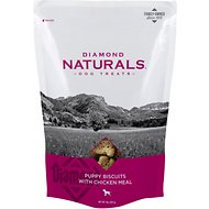Diamond Naturals Puppy Biscuits with Chicken Meal Dog Treats, 8-oz bag