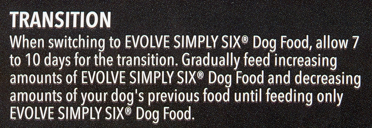 Evolve Simply Six Dog Food Reviews