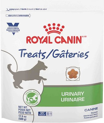 Royal Canin Veterinary Diet Urinary Canine Dog Treats 1 1 Lb Bag Chewy Com