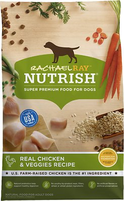 7. Rachael Ray Nutrish Super Premium Dry Dog Food