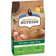 Rachael Ray Nutrish Natural Chicken & Veggies Recipe Dry Dog Food, 40-lb bag