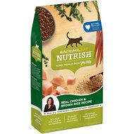 Rachael Ray Nutrish Natural Chicken & Brown Rice Recipe Dry Cat Food, 3-lb bag