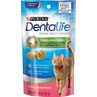 DentaLife Savory Salmon Flavor Dental Cat Treats, 1.8-oz bag