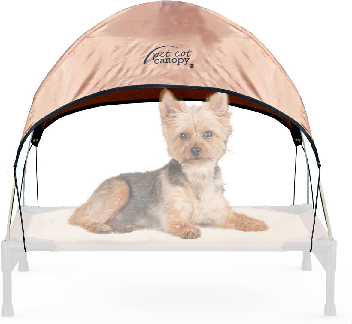 KandH Manufacturing 30 by 42-Inch Pet Cot Canopy New Large Free Shippi Gray