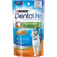 DentaLife Tasty Chicken Flavor Dental Cat Treats, 1.8-oz bag