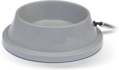 K&H Pet Products Thermal-Bowl Plastic Dog & Cat Bowl, 32-oz