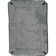 K&H Pet Products Memory Foam Crate Pad, Gray, Medium