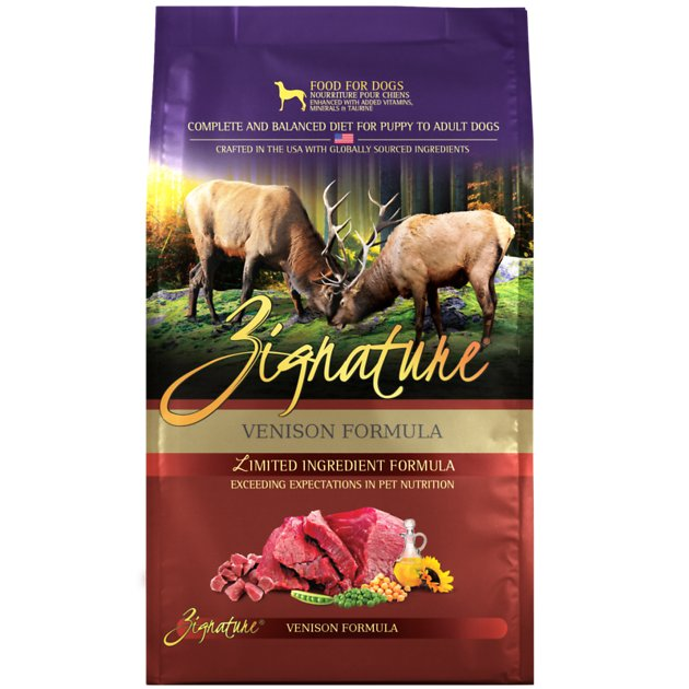 Zignature Venison Limited Ingredient Formula Grain Free