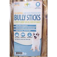 "Pet's Choice Naturals Low Odor Bully Sticks 12"" Dog Treats, 25 count"