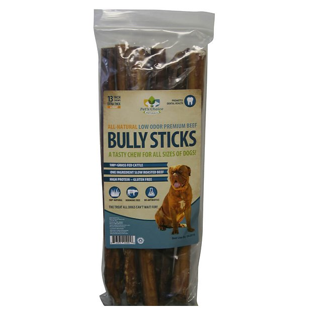 pet 39 s choice pharmaceuticals low odor jumbo bully sticks. Black Bedroom Furniture Sets. Home Design Ideas