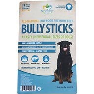"Pet's Choice Pharmaceuticals Low Odor Jumbo Bully Sticks 13"" Dog Treats, 25 count"