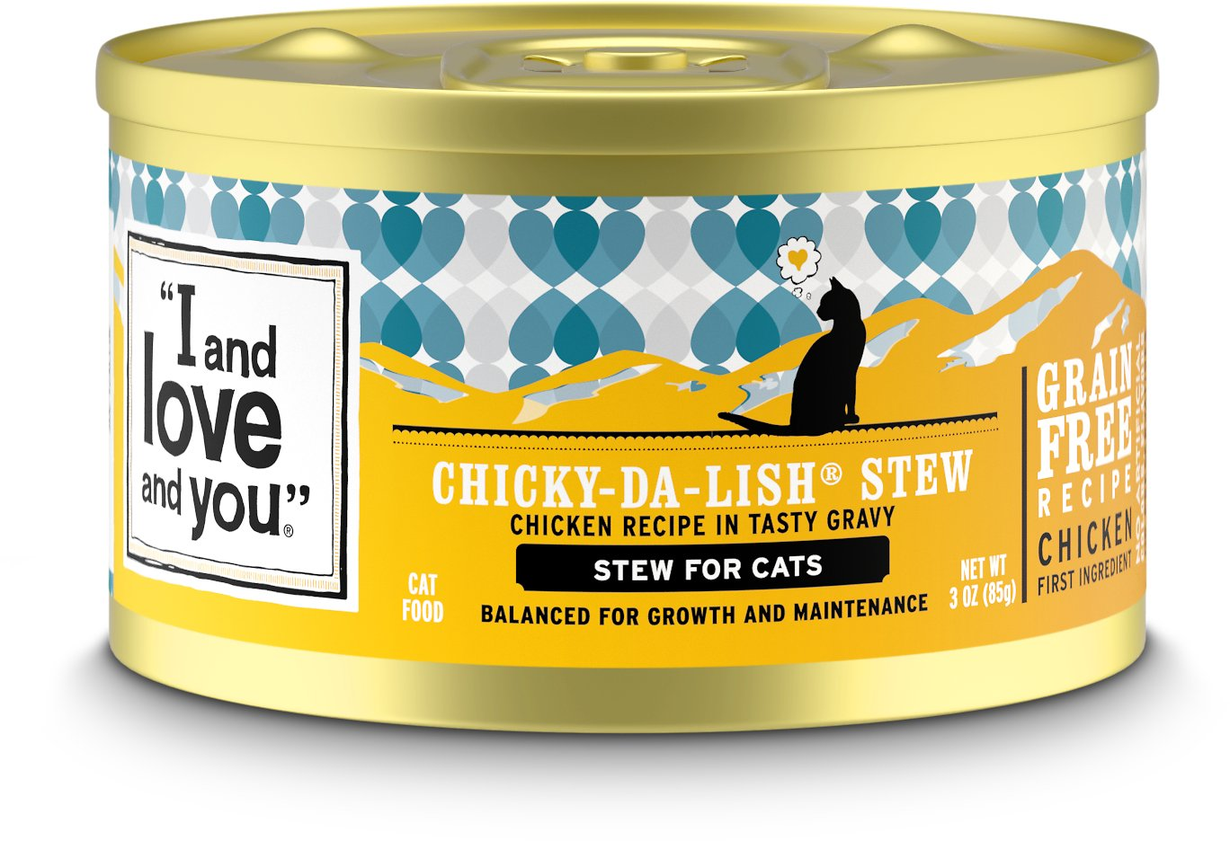 "Image result for ""I and love and you"" Grain Free Canned Stew Cat Food"