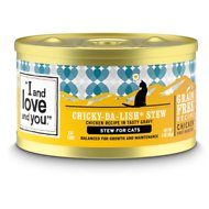 I and Love and You Chicky-Da-Lish Stew Grain-Free Canned Cat Food, 3-oz, case of 24