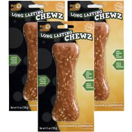 "Pet 'n Shape Long Lasting Chewz Chicken Bones 6"" Dog Treats, 3 pack"