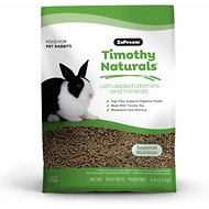 ZuPreem Nature's Promise Timothy Naturals Rabbit Food, 5-lb bag